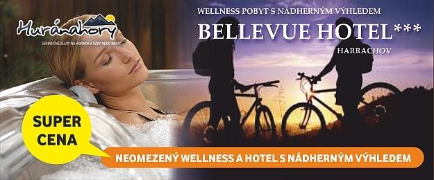 VÝHODNĚ! Až 4 dny wellness v Harrachově s polopenzí v Hotel Bellevue***
