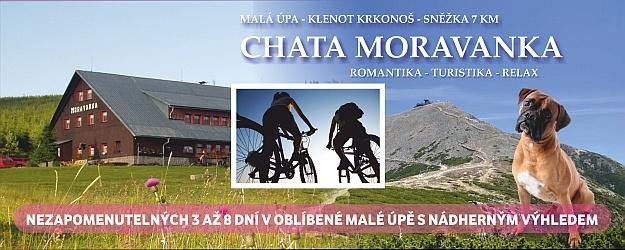 Romantika v Krkonoších 4-8 dní ve vyhlášené chatě Moravanka.