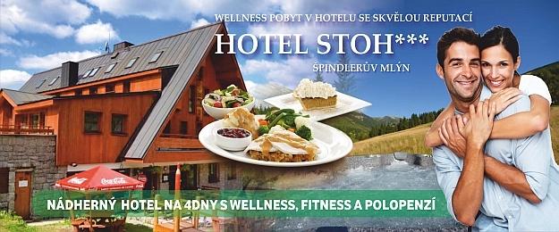 Luxusní fitness dovolená na 4 dny s polopenzí přímo ve Špindlerově Mlýně.