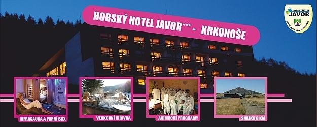 Akce podzim! 4 dny s plnou penzí v Krkonoších va hotelu JAVOR!