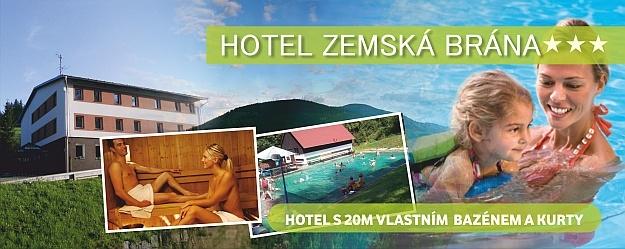 Babí léto a 3 dny relaxace, odpočinku, houbaření v krásné přírodě pro 2 osoby s polopenzí v hotelu Zemská brána*** v Orlických horách.