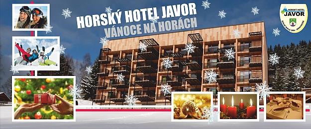 Vánoce bez starostí v Krkonoších na 4 dny s plnou penzí v rodinném Horském Hotelu Javor*** v romantické Malé Úpě, u nejvýše položeného ski areálu a dětmi do 10 let zdarma!