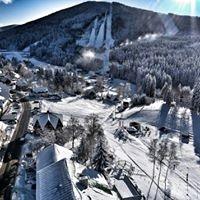 Leden v Harrachově na 3-4 dny s polopenzí pro 1 osobu.