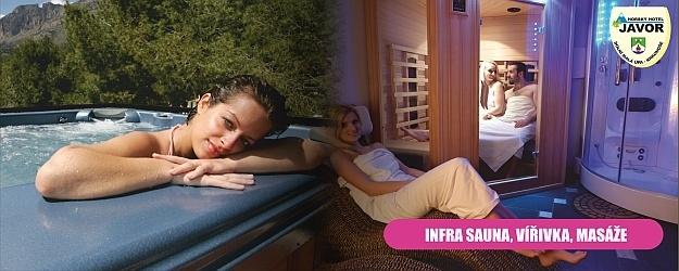 4 dny relaxu, wellness a polopenze v Horském Hotelu Javor*** v Krkonoších.