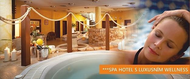 6 DNÍ s wellness pro 2 osoby ve SPA Hotelu***- Letní bomba