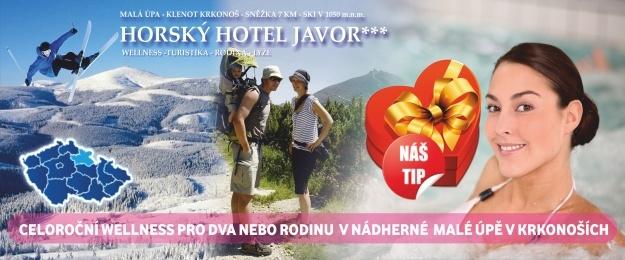 5 dní v Krkonoších s polopenzí a wellness, babyfriendly hotel, dítě zdarma