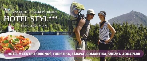 Letní oddech na čerstvém krkonošském vzduchu na 3 dny/ 2 noci ve Špindlu.