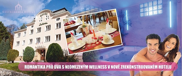 Wellness pobyt pro 2 osoby v romantickém zákoutí Krušných hor.