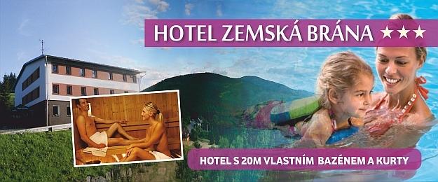 Týdenní relax! Hotel Zemská brána s polopenzí v Orl.horách.